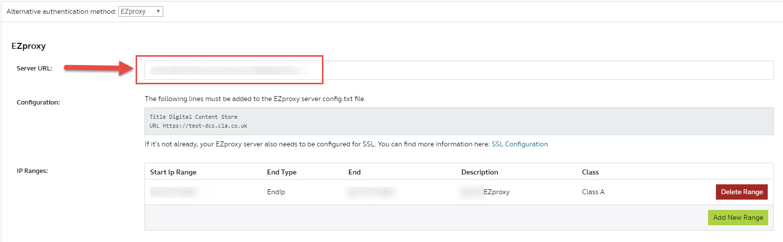 EZproxy authentication with the DCS – Digital Content Store